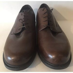 Dunham waterproof Oxfords Size 19D Brown Leather